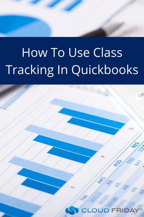 Class tracking in Quickbooks