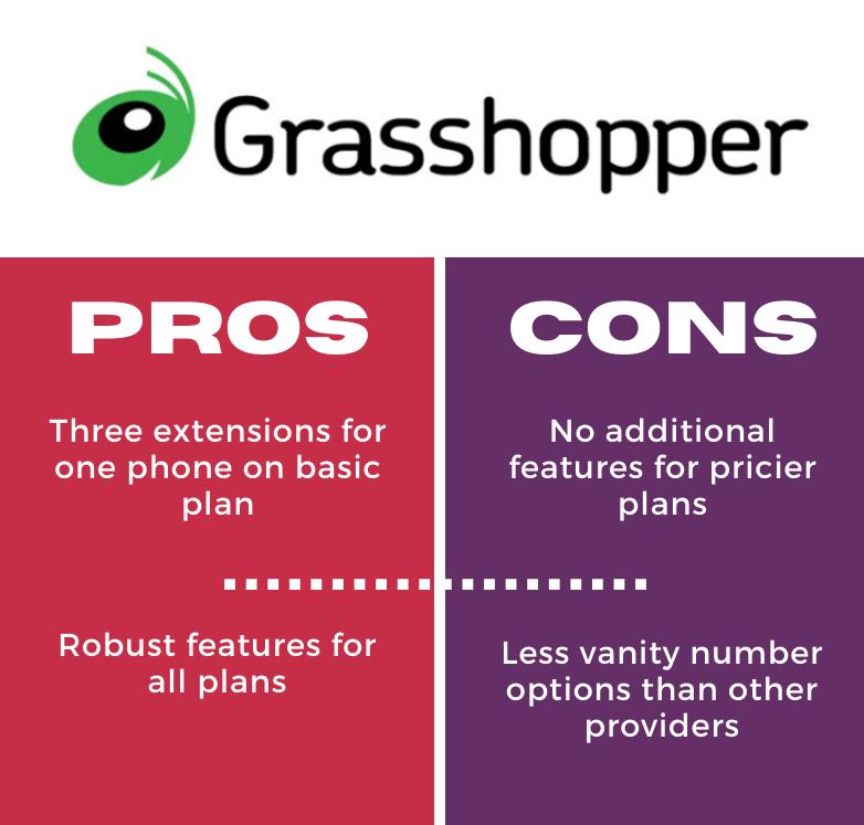 grasshopper pros and cons